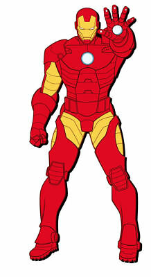 Marvel Iron Man Soft Touch Magnet
