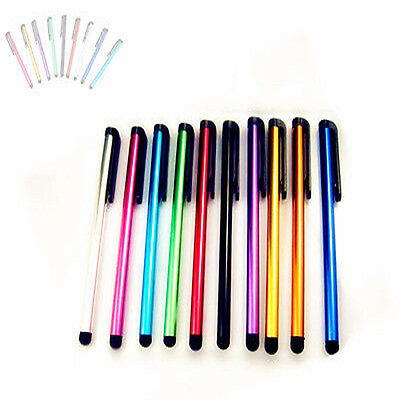 10x Metal Colorful Touch Pens Compatible with Android Ipad Tablet Phone PC