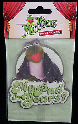 The Muppets KERMIT the frog Car Air Freshener My pad or yours? Fun gift New