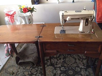 VINTAGE SINGER 40 SlantOMatic Special Heavy Duty Sewing Machine Inspiration Kenmore Sewing Machine Cabinet Ebay