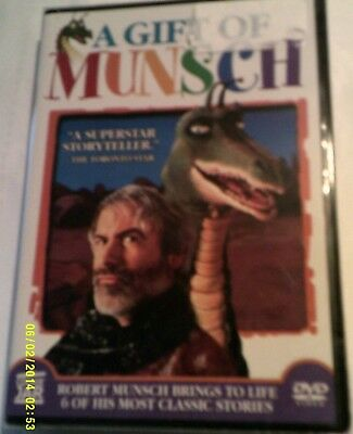 DVD A GIFT OF MUNSCH  Author & Side Kick 9 ft mechanical dragon NEW 6 Stories