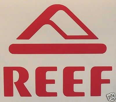 2 X SQUARE REEF style 2 Stickers/Decals- Surfing/Watersports/ Skateboarding/Bmx
