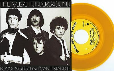 Velvet Underground Foggy Notion I Can T Stand It 7 Inch