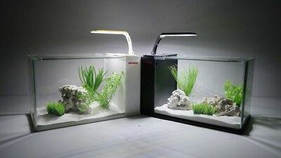 Nano Aquarium Complete Aquarium Mini Aquarium+Filter System+Led & Moonlight