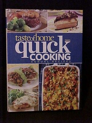 2013 Taste of Home Quick Cooking Annual Recipes Cookbook