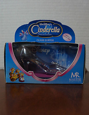 Master Replicas Cinderella Glass Slipper Mini Crystal  Disney Collectible NRFB