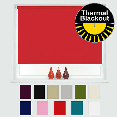 Thermal Blackout Roller Blinds