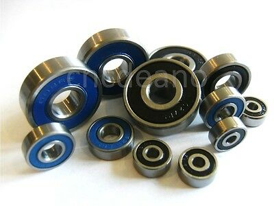 √ MR SERIES 2rs QUALITY DOUBLE SEALED MINIATURE BEARINGS ALL SIZES AVAILABLE √