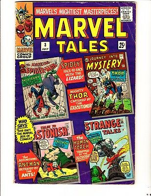 Marvel Tales 3 (1966): FREE to combine: in Good+  condition