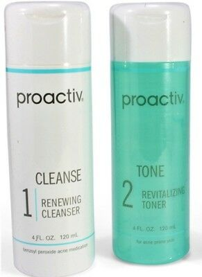 Proactiv Renewing Cleanser and Revitalizing Toner 120ml 60 Day proactive