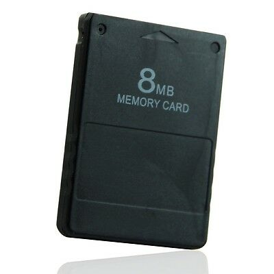 8MB Memory Card Store Card For Sony PlayStation 2 PS2 Game