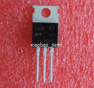 5pcs MBR20200 MBR20200CT Power Rectifier TO-220 ON