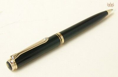 Pelikan Souveran K800 Black Resin With Gold Plated Trim Ball Point Pen(Old Logo)