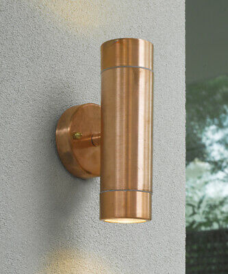 Harbour 2 Light Up/Down Wall Bracket in Copper