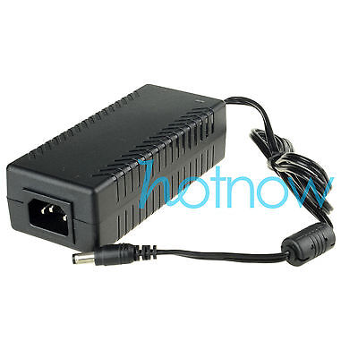 48V 3A 144Watt AC to DC Power Supply Adapter 100-240V for PoE Switch Injector