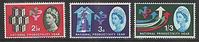 SG631p / 633p National Productivity Year Phosphor Set Unmounted Mint Cat £30