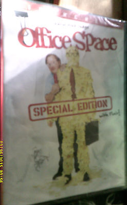 DVD OFFICE SPACE Widescreen SPECIAL EDITION with Flair NEW