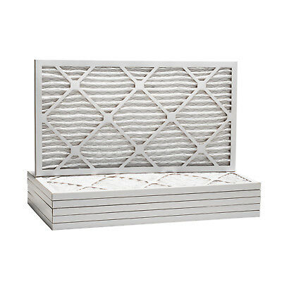 17x22x1 Dust and Pollen Merv 8 Replacement AC Furnace Air Filter (6 Pack)
