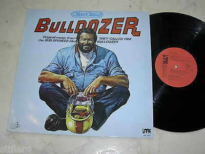 BULLDOZER Oliver Onions BUD SPENCER *OST*LARK LABEL PRIVATPRESSUNG*MINT*