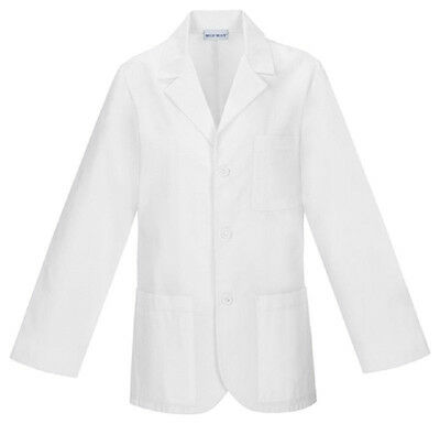 """Scrubs Cherokee Mens Antimicrobial 31"""" Men's Consultation Lab Coat 1389A White"""