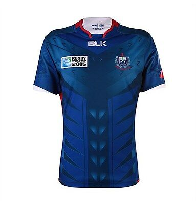 Samoa Rugby Union 2015 Official World Cup Home Jersey Size S-7XL! Manu Samoa!