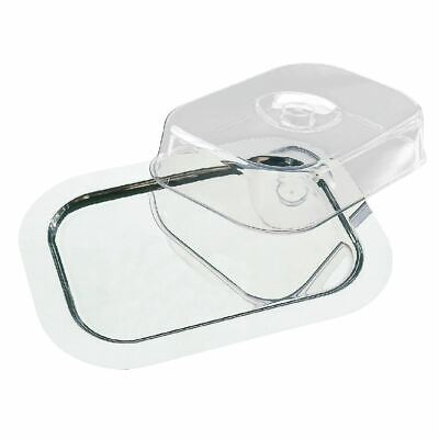APS Rectangular Tray with LURAN Transparent Durable Poly Cover 90mm High