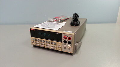 Keithley 2700 Multimeter / Data Acquisition System + Opt 7700: 20 Ch Multiplexer