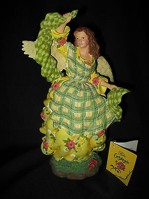 Signed by Pipka Earth Angel Cottage Angel 1996 Limited Edition Mint Hang Tag