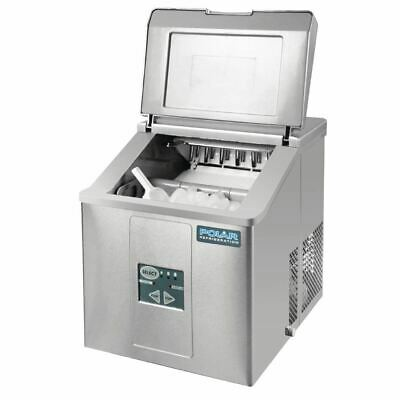 Commercial Polar Countertop Ice Machine 17kg Output Sliding 17kg/24hr