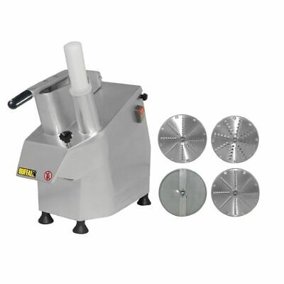 Buffalo Multi Function Continuous Veg Prep Machine And 4 Free Discs Maker