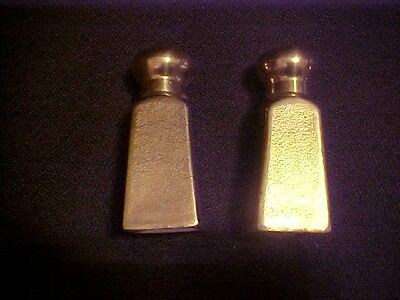 Vintage Pickard Salt And Pepper Shakers, Gold