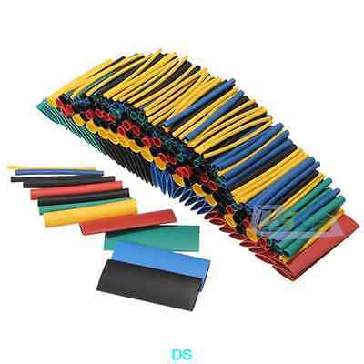 280PCS Assortment 2:1 Heat Shrink Tube Tubing Sleeving Wrap Wire Cable Kit Box