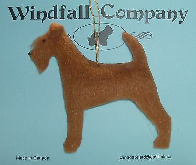 The Irish Terrier Dog Plush Christmas Canine Ornament # 3 by WC