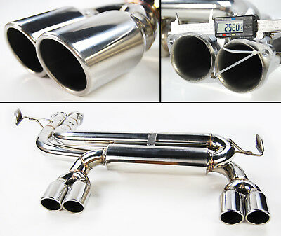 Bmw 3 Series E46 3.2 M3 1998-2005 Coupe & Convertible Exhaust Backbox Quad