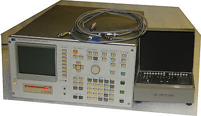 Agilent / HP 4145B Semiconductor Parameter Analyzer with 16058A and cables