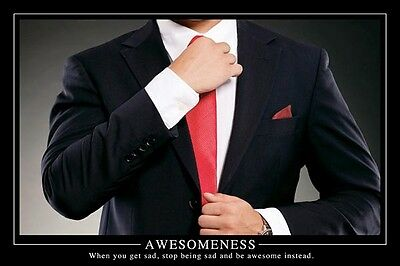 """AWESOMENESS POSTER """"LICENSED"""" BRAND NEW """"HOW I MET YOUR MOTHER"""" 61cm X 91.5cm"""