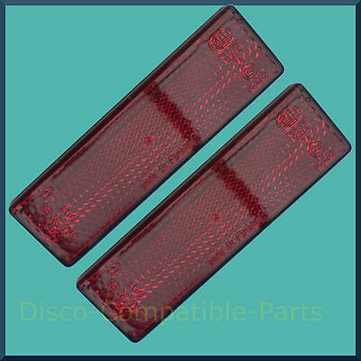Land Rover Defender Genuine Rear Reflector Pair Self Adhesive XFF100071