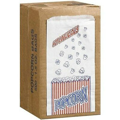 Great Northern Popcorn Company 1.5-Ounce Duro Bag Popcorn Bags, Case of 500
