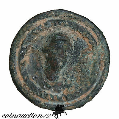 Scarce & Intact Roman Bronze Nail From A Chariot , Struck Of Venus Face • CAD $163.48