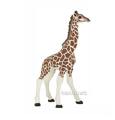 FREE SHIPPING | Papo 50100 Giraffe Calf  Wild Africa Animal Toy- New in Package