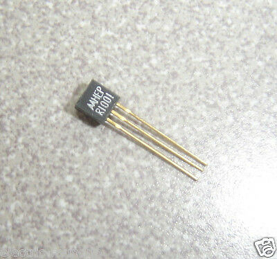MOTOROLA HEP R1001  Silicon Controlled Rectifier (Thyristor) TO-92 Gold Leads