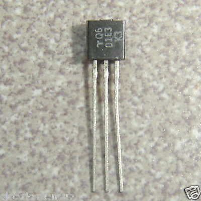 Lot of 2 Teccor Littlefuse Gated Triac Q601E3 600v 1a max temp 125C TO-92