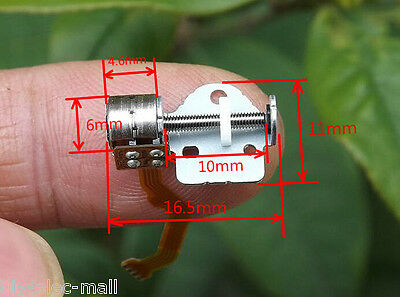 10pcs Micro Stepping Motor Stages Slide Screw 2 phase 4 wire stepper motor
