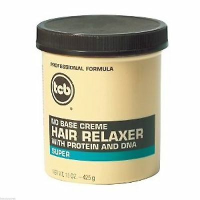 Tcbno Base  Creme Relaxer With Protein And Dna Super 15Oz