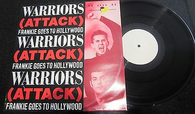 "Frankie Goes To Hollywood ""warriors (Attack)"" Rare W/l Remix 12"" Gary Moore"
