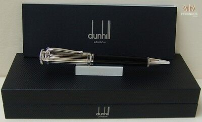 Dunhill Sentryman Black Chassis With Palladium Plated Finish Ball Point Pen !!!!