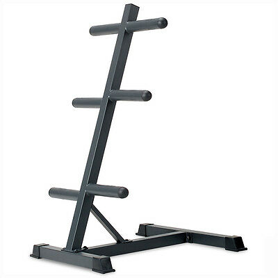 Marcy PT45 Olympic Weights Storage Stand Tree Fitness Gym Plate Rack
