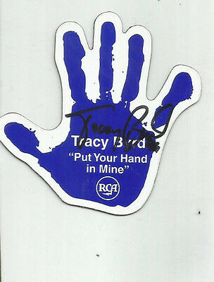 Autographed Tracy Byrd Put Your Hand In Mine Refrigerator Magnet