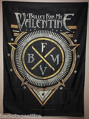 BULLET FOR MY VALENTINE BFMV Emblem Cloth Poster Flag Fabric Tapestry Banner-New