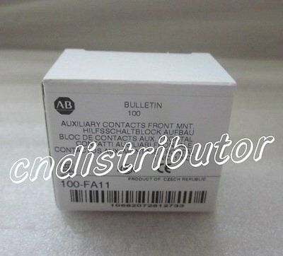 AB Auxiliary Contact 100-FA11 ( 100FA11 ) New In Box !  Each lot is QTY 10
